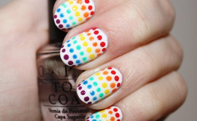 Easy nail designs cute and easy nail art for beginners 6rainbow nails solutioingenieria Choice Image