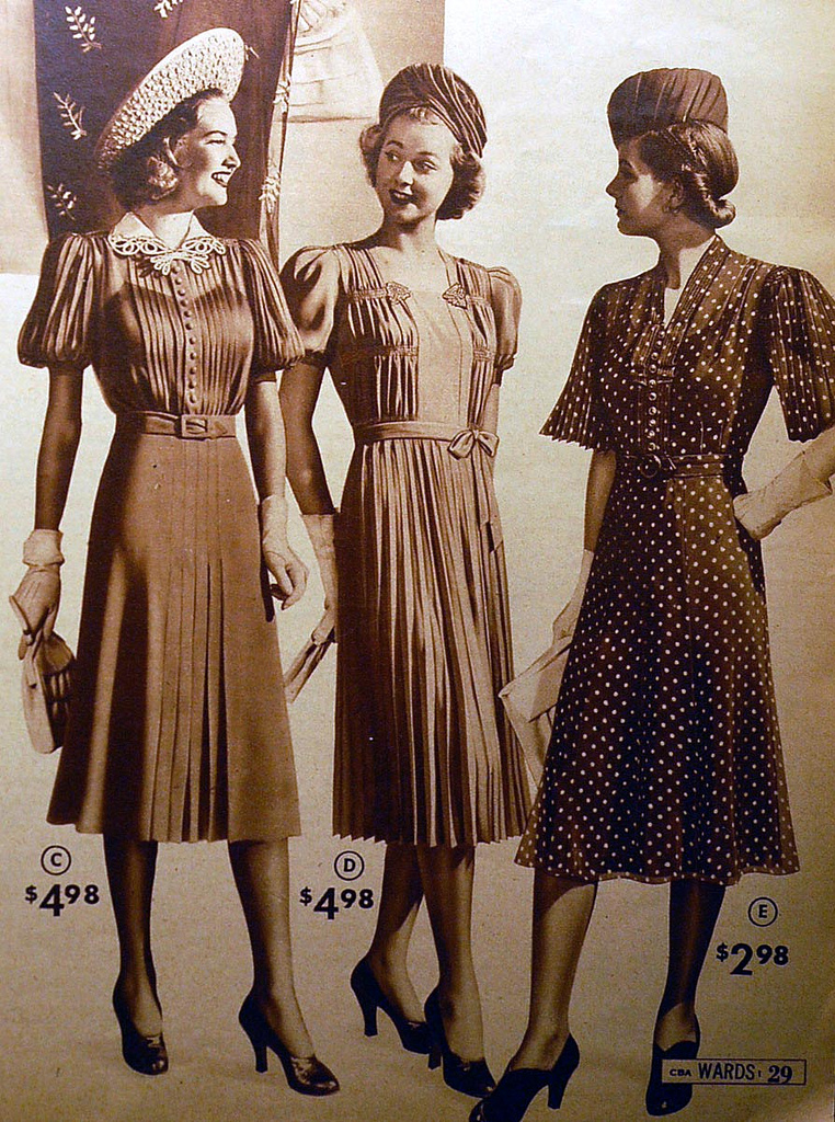 1940 S Fashion Young Woman S Wardrobe Plan: Body Image: The Essence Of Subjective Body Image