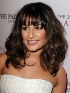 Lea Michelle's amazing hair