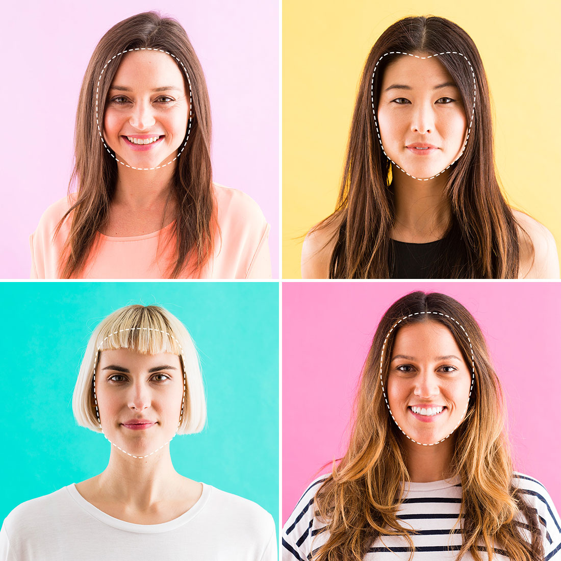 face shapes: finding your face shape
