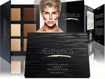 Aesthetica-Cosmetics-Cream-Contour-and-Highlighting-Makeup-Kit-Contouring-Foundation-Concealer-Palette-Vegan-Cruelty-Free-Hypoallergenic-Step-by-Step-Instructions-Included-0