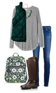 cute outfits for college