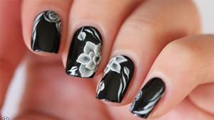 30 black nail designs  black nail art ideas