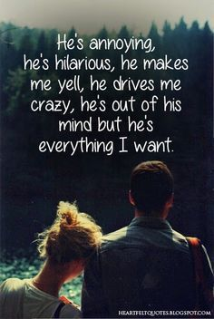 cute Boyfriend Quote