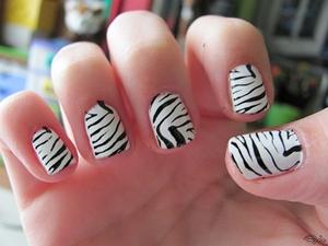 gel short nails