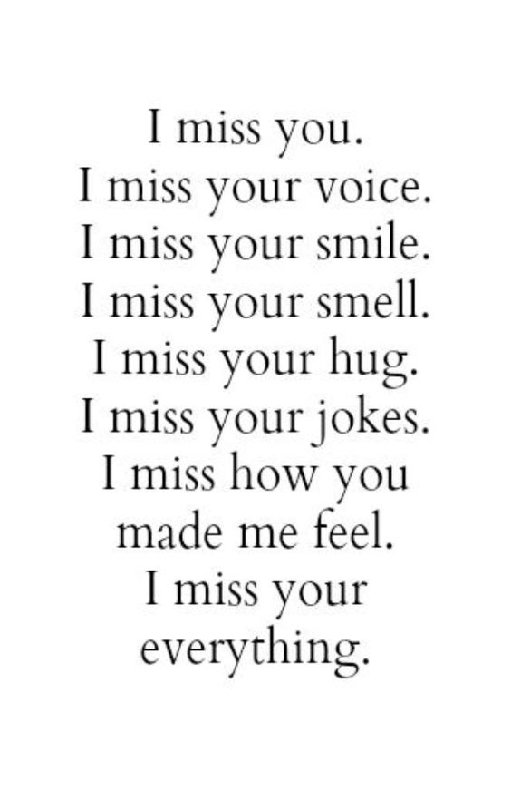 Sad I Miss You Quotes For Friends: Missing You Girlfriend Quotes