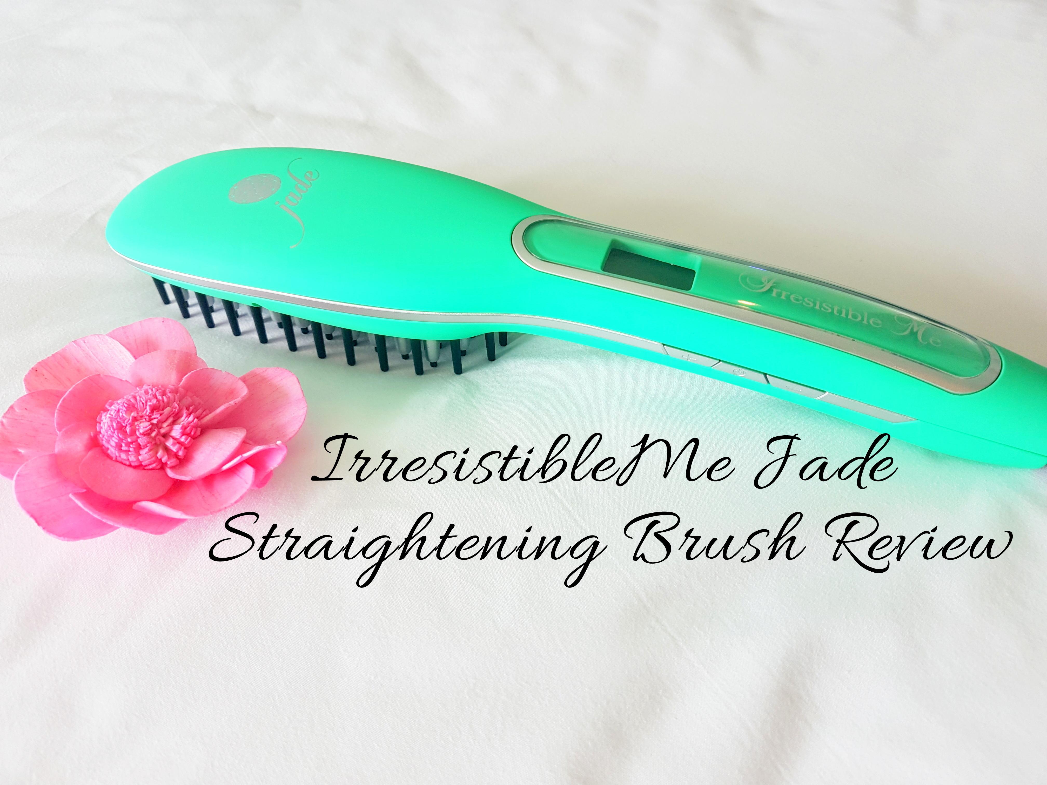 Irresistibleme Jade Straightening Brush Review