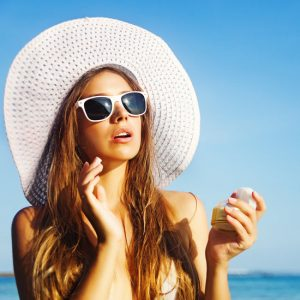 sunscreen for spots n face