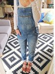 cute overall jeans