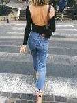 jeans and top