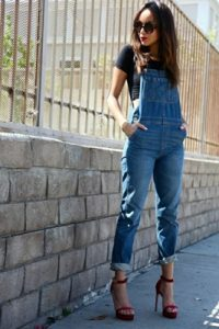 jeans overall outfit