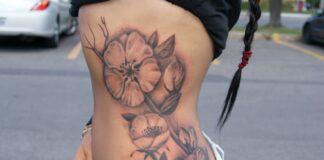 Side tattoos for girls