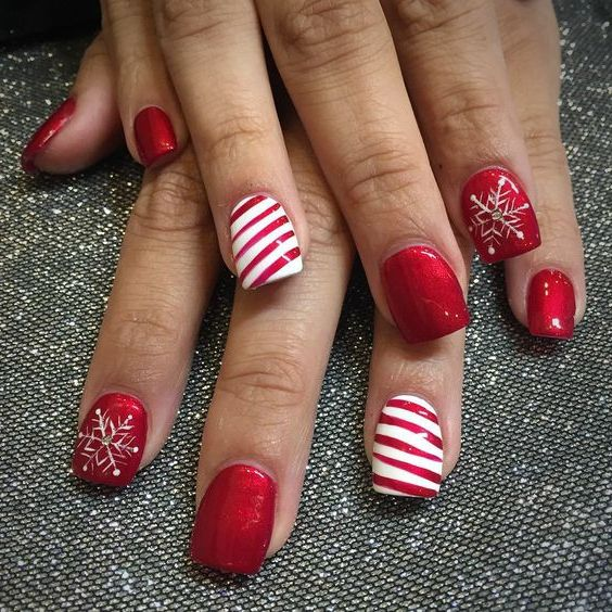 Christmas Nails Not Acrylic: 30 Christmas Nail Designs For A Festive Holiday