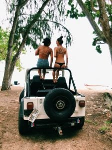 Best Friends Jeep