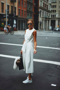 street style white outfit