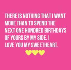 Creative birthday wish