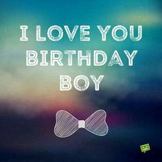 Birthday boy text image