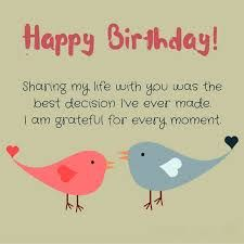 Grateful birthday wish