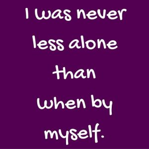 Less Alone Quote