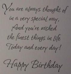 Rhyming birthday wish