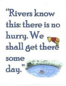 Winnie the Pooh River Quote