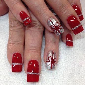 gift nail art