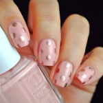 Pastel Pink And Spots