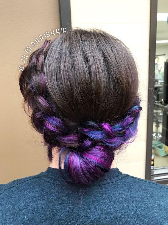 purple fade