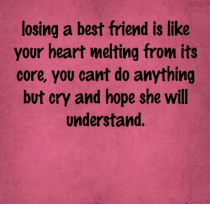 Best Sorry Quotes For Best Friend