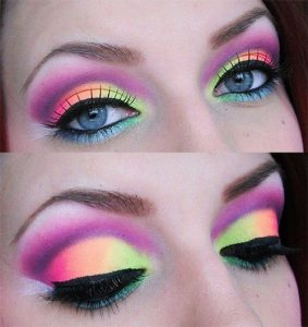 80s makeup for eyes