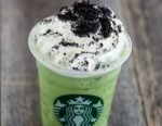 Chocolate Mint Frappuccino