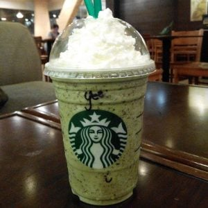 Green Tea Kit Kat Frappuccino