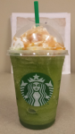 Sour Apple Caramel Frappuccino