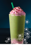 Matcha Strawberry Blossom