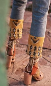 boho outfit detail