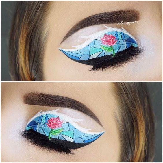 Disney Nails And Makeup Disney Inspired Makeup Amp Nail Art