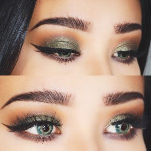best colors for green eyes