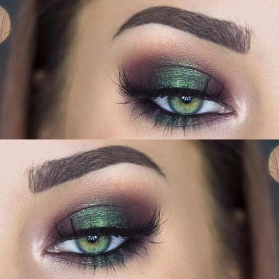 Makeup for green