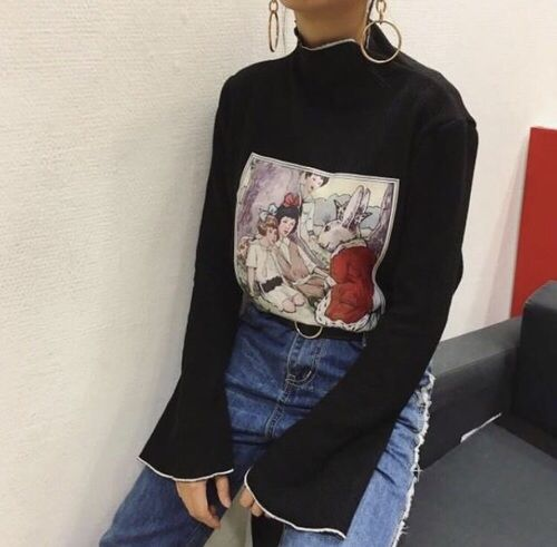 grunge outfit for concert