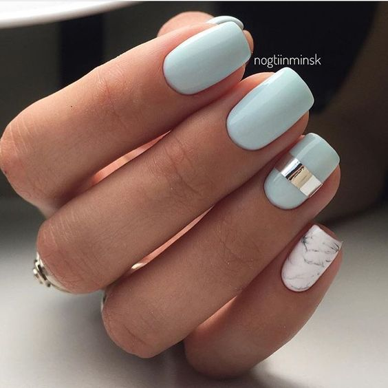 Powder Nail Polish Near Me: Pastel Nails: 35 Creative Pastel Nail Art Designs