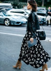 maxi skirt school outfit