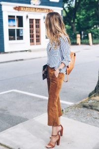 suede school outfit