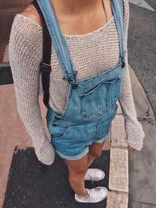 dungarees school outfit