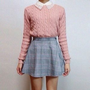 knit school outfit