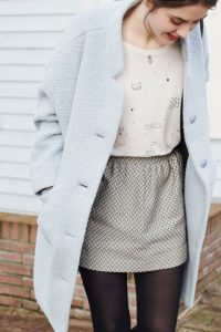 pastel school outfit