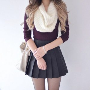 infinity scarf outfit