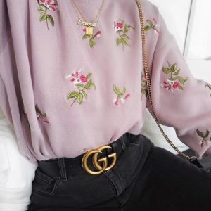 floral school outfit