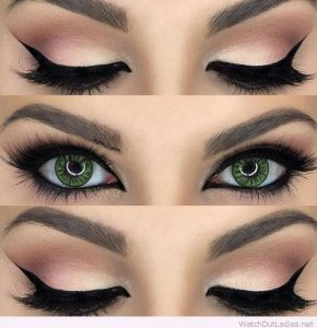 good makeup for green eye