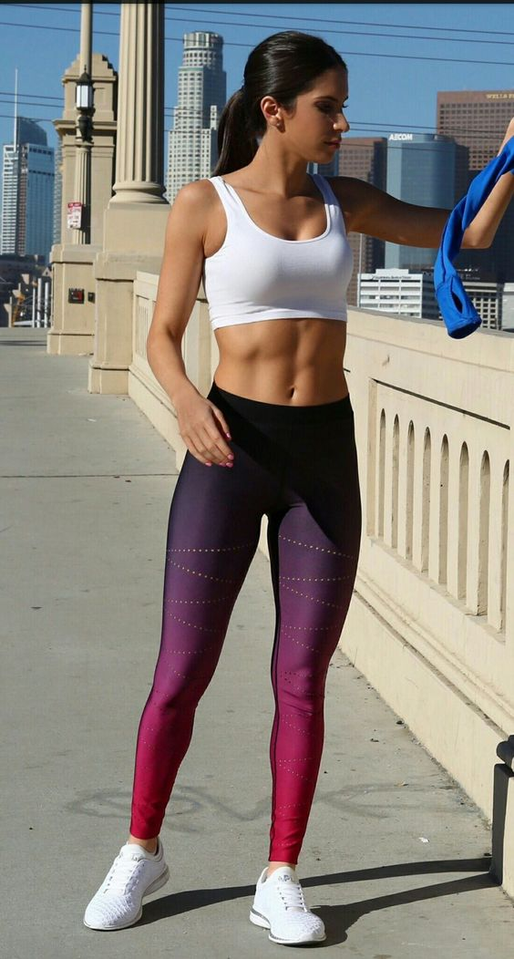 Cute Workout Outfits That Will Motivate You To Go To The Gym-8499