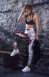 marble workout outfit